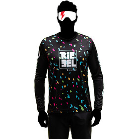 Riesel Design bang:er Longsleeve Jersey, color splash